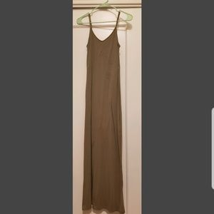 Long cotton maxi dress, xs